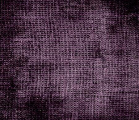byzantium: Grunge background of dark byzantium burlap texture Stock Photo