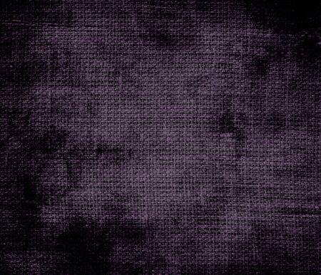 dark purple: Grunge background of dark purple burlap texture Stock Photo