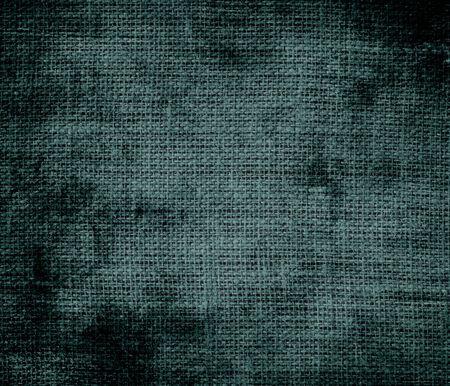 dark slate gray: Grunge background of dark slate gray burlap texture