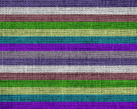 colorful stripes: Colorful stripes pattern burlap texture background