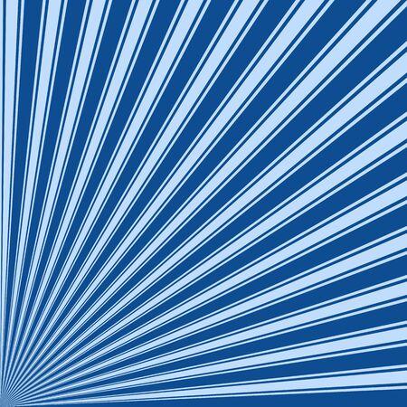 yale: Yale Blue Color Stripe Funky Sun Rays Backgound Stock Photo