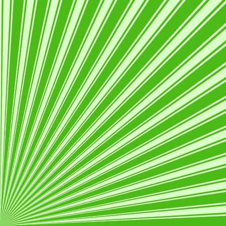 kelly: Kelly green Color Stripe Funky Sun Rays Backgound Stock Photo