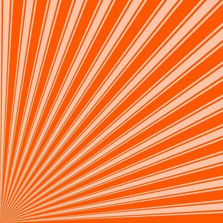 willpower: Willpower orange Color Stripe Funky Sun Rays Backgound Stock Photo