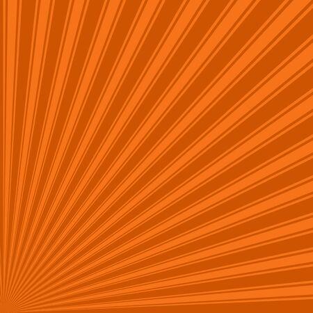 sun burnt: Burnt orange Color Stripe Funky Sun Rays Backgound Stock Photo