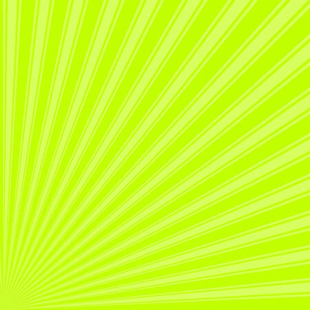 bitter: Bitter lime Color Stripe Funky Sun Rays Backgound Stock Photo
