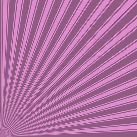 fuchsia color: Antique fuchsia Color Stripe Funky Sun Rays Backgound Stock Photo