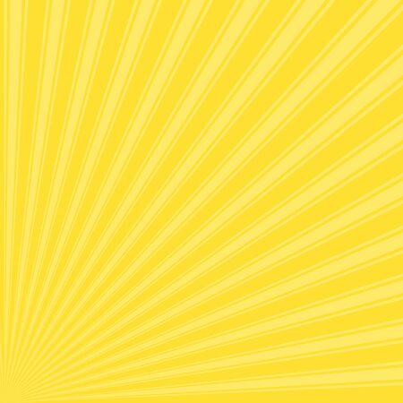 banana yellow: Banana yellow Color Stripe Funky Sun Rays Backgound Stock Photo