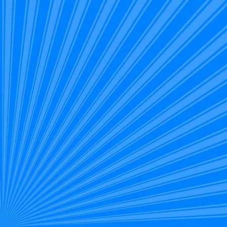 azure: Azure Color Stripe Funky Sun Rays Backgound Stock Photo