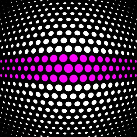 magenta: Magenta and white polka dot background