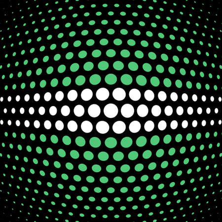 emerald: Emerald and white polka dot background