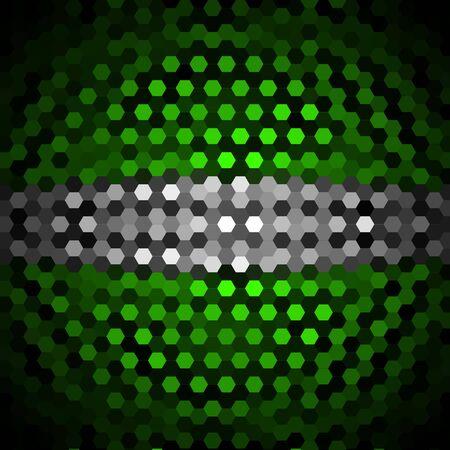 harlequin: Harlequin and Gray Hexagons Pattern Background