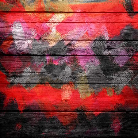 color paint: Abstract Color Paint Brush Wood Background