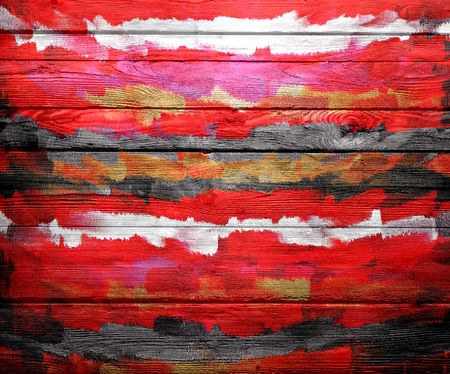 latex: Abstract Color Paint Brush Wood Background