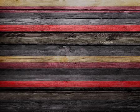 color paint: Vintage Color Paint Stripes Wood Background