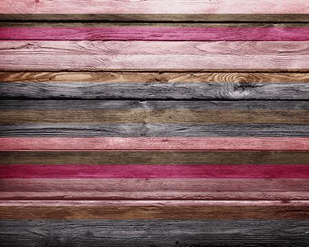 poster art: Vintage Warm Colors Paint Stripes Wood Background