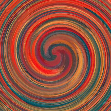 Abstract art swirl colored background 免版税图像