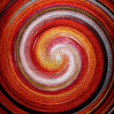 slop: Abstract Orange Spiral Leather Background