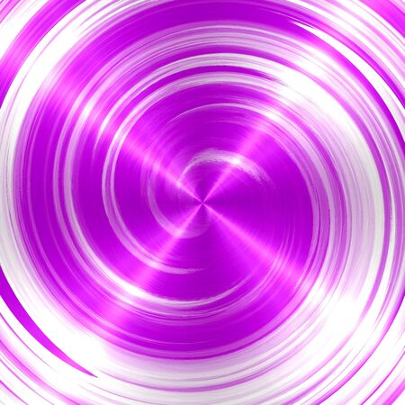 slop: Abstract Violet Spiral Stainless Steel Background