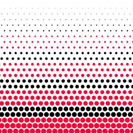 Immagini Stock Carmine Rosso E Nero A Pois Su Sfondo Bianco Image