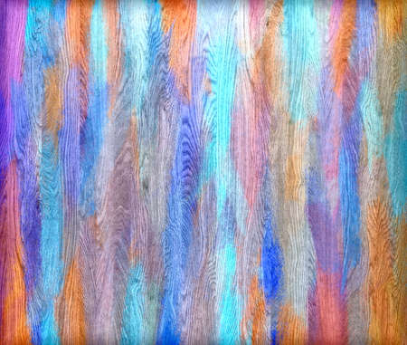 painted wood: Colorful painted wood wall texture background