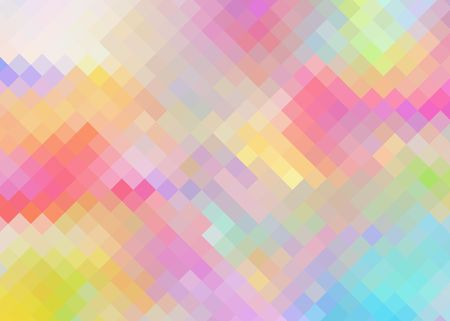 Colorful Diamond Pattern Background