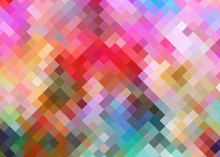Kleurrijke Patroon van de Diamant Achtergrond Stockfoto