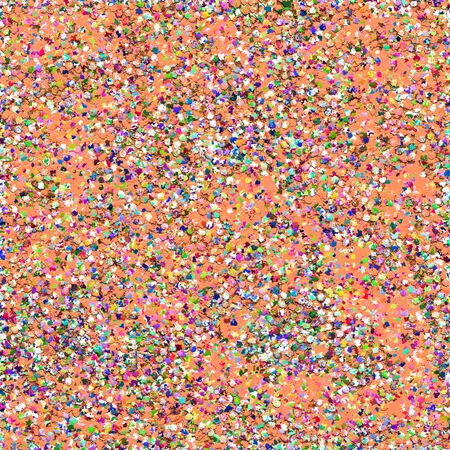 Multicolor Grit Glitter Abstract Painting Background