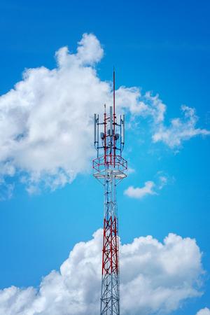 telecommunication tower Фото со стока - 31032323
