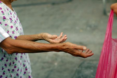 pity: Street beggar