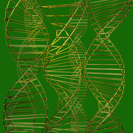 color pattern of the array lattice atom photo