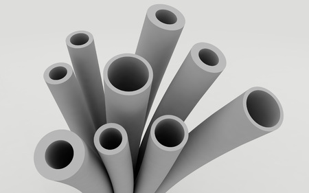 plastic conduit: Plastic pipes for heating systems and water supply