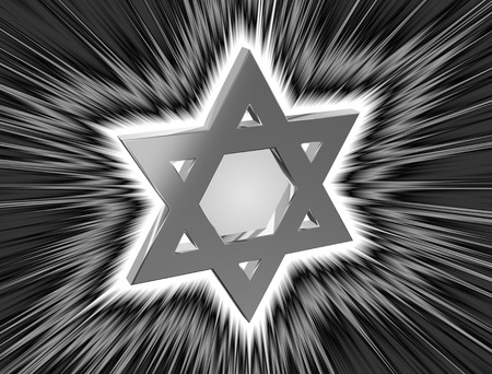 monotheism: among the rays Star of David