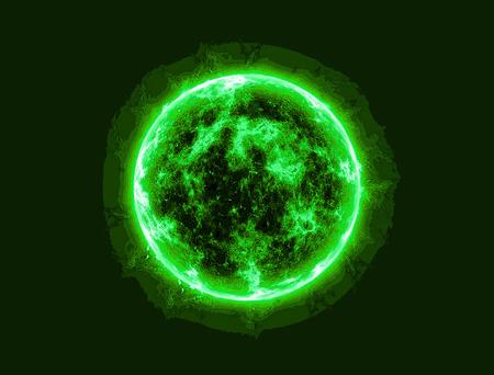不明な有機生命体の細胞の抽象的なイメージ 写真素材