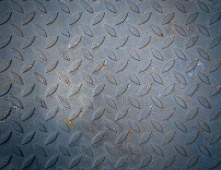 diamondplate: old steel plate texture background