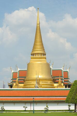 Wat Phra Kaew,Grand palace, tourism travel at Bangkok of Thailand  Stock Photo - 13404569