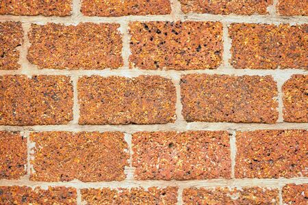Abstract background with old brick wall. photo