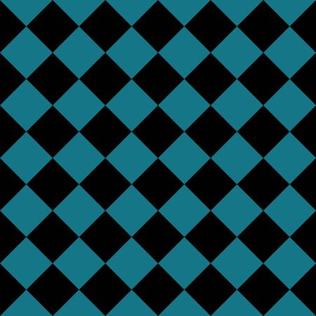 seamless chess pattern black and blue