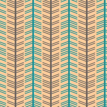 Colorful pastel trendy scandinavian herringbone with chevron style pattern. Multicolor vector illustration.