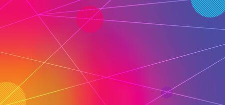 Minimal dynamic shapes background 向量圖像