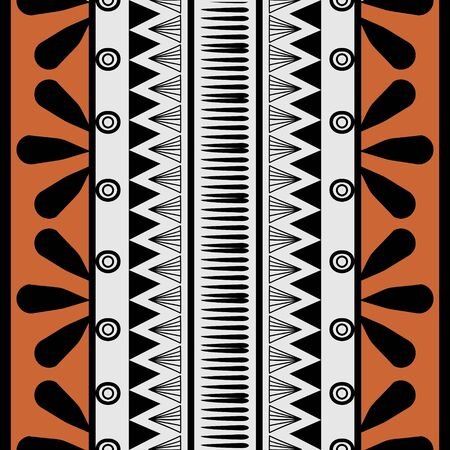 retro colors tribal  seamless navajo pattern. aztec abstract geometric art print. Ethnic hipster  background. Wallpaper, cloth design, fabric, tissue, cover, textile template illustration.