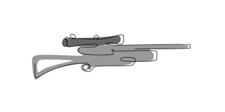 continuous line drawing tool for sniper shooting.