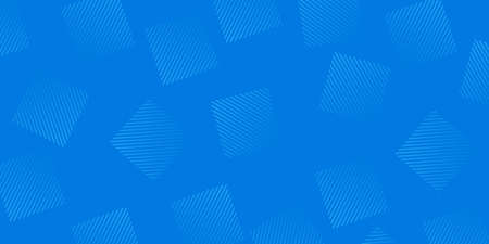 Modern blue vector Abstract Technology business background with lines and geometric shapes, Professional square minimalist.