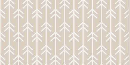 Seamless trendy arrow pattern. white arrows with modern Scandinavian style on pastel background.