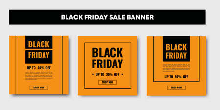 Black friday sale post banner, fashion market design, advertisement clearance for web and mobile phone. Set collections elegant and feminine theme.