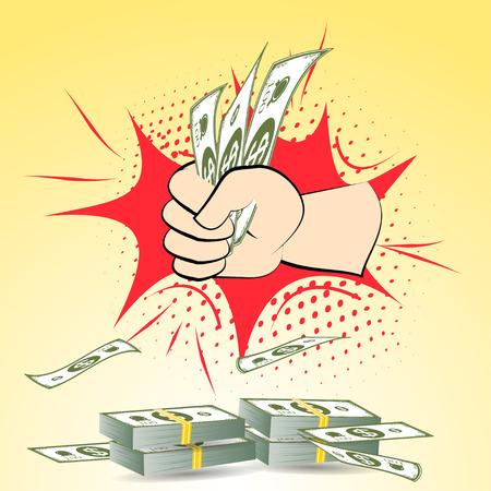 batch: dollars money