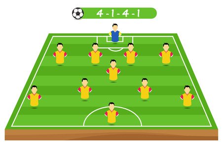 tactical: soccer player tactical position
