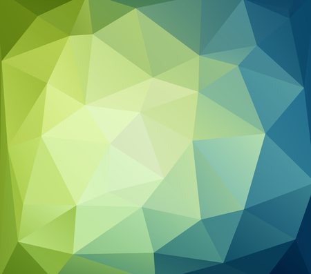 abstract mosaic background polygonal, Business design templates Illustration