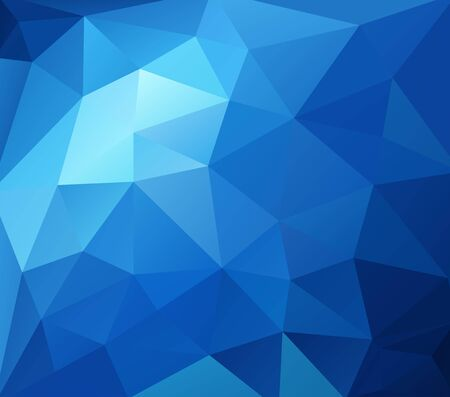vitaliteit: abstract mosaic background polygonal, Business design templates Stock Illustratie
