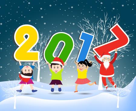 Vrolijk kerstfeest en gelukkig nieuw jaar 2017