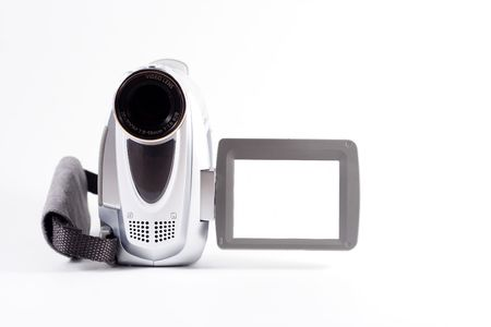 ccd: Blank camcorder Stock Photo